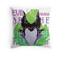 Villian inspired by Maleficent Throw Pillow
