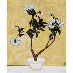 Sanyu, POTTED PEONIES