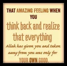 But Allah knows best what is good for you.... So don't panic and trust Allah... Indeed He is all seeing and all knowing. Trust Allah, always.