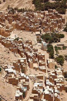 https://flic.kr/p/eeF8o | General view of Shibam - Yemen |  © Eric Lafforgue  www.ericlafforgue.com