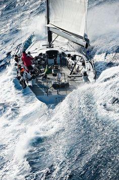 Big water sailing
