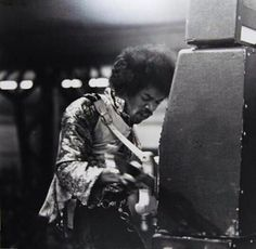 Jimi Hendrix live in Rotterdam | November 10th, 1967 | Photos by Rob Bosboom
