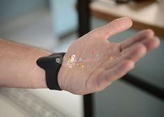 Smartwatch by Dor Tal monitors social networks to predict your future