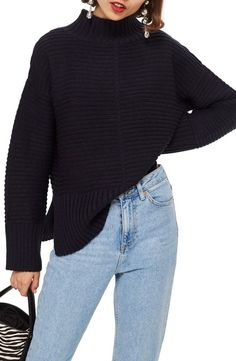 Looking for Topshop Mock Neck Sweater - Women's fashion Sweater ? Check out our picks for the Topshop Mock Neck Sweater - Women's fashion Sweater from the popular stores - all in one. Winter Sweaters, Sweaters For Women, Wearing All Black, Junior Fashion, Fashion Jackson, Junior Outfits, Holiday Outfits, Fall Outfits, Comfortable Outfits