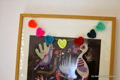 tichtach - en kreativ logbog: DIY: Hæklede hjerter og et par ord om kærlighed