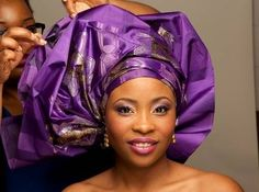 Learn how to tie a perfect bridal Gele head-tie yourself and stop paying or begging someone to do it for you. Watch and follow along this step by step video tutorial that teaches how to tie a Gele ...