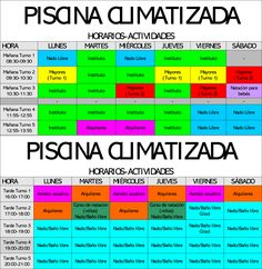 casariche heated pool from nov 1th - ? Heated Pool, Periodic Table, Spain, Swiming Pool, Schedule, Tuesday, Periodic Table Chart, Periotic Table, Sevilla Spain