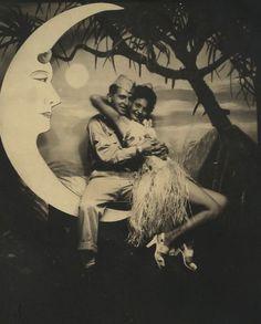 maudelynn:  1940's Saucy Paper Moon!