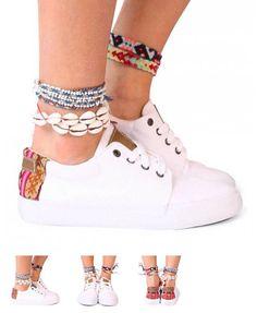 Mipacha white shoes