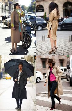Floor length trench outfit  | The colors!