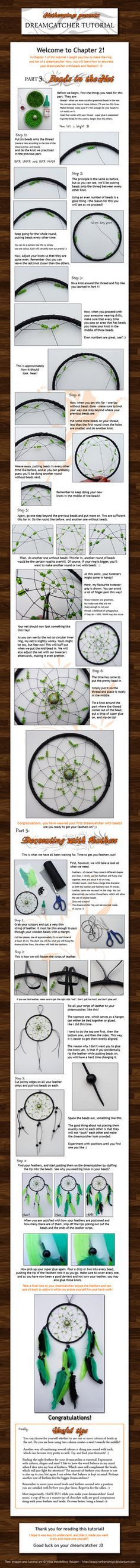 Dreamcatcher tutorial: Ch. 2 by ~netherwings on deviantART