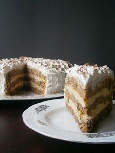 Duplán gesztenyés torta