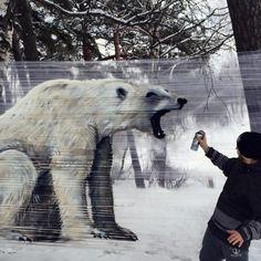 Bear cellograffiti - Ches...