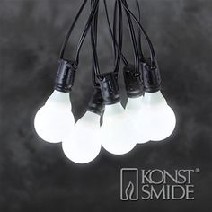 Konstsmide 4640-100 Connectable Christmas Festoon Lights - 10 LEDs
