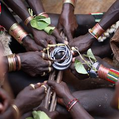 Lower Omo  Valley Ethnic  Groups (Ethiopia). 'The Lower Omo Valley is a remarkable  cultural crossroads. From  the Mursi people and their  lip plates to the Banna with  their calabash hats to the  body painting Karo, tradition  runs deep here.' http://www.lonelyplanet.com/ethiopia @Kay Kemmet