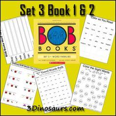 FREE Early Reading Printables: BOB Book Set 3 Book 1 & 2