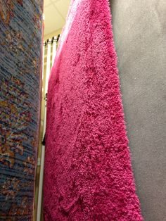 U003c3 Hot Pink Shag Rug That Was At Home Goods.