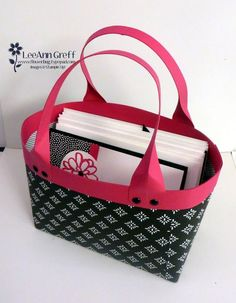 It's a 'Handbag' full of Cards Class! from Flowerbug's Inkspot