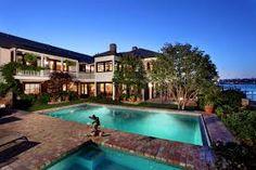 a big pool and a wirlpool