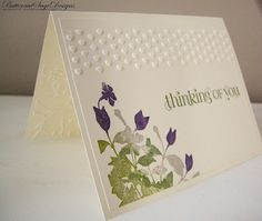 """use the Textured Embossing Elements folder w Old Olive & Elegant Eggplant in the """"rock & roll"""" technique"""