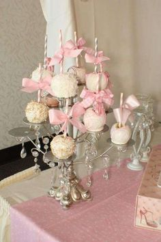 Shabby Chic, Vintage Glam Baby Shower Party Ideas | Photo 13 of 17 | Catch My Party