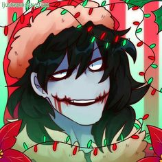 Jeff the killer by ijustwannahavefun♥ Jeff The Killer, Scary Creepypasta, Creepypasta Proxy, Dark Disney, Art Hama, Creepy Pasta Family, Laughing Jack, Christmas Icons, Ben Drowned