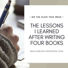 Find out what I learned after writing four books, and what the best lesson you can learn is.  Link in bio.  .  .  .#blog #wordpress #writers#writing#writersofinstagram#youngadult#writingtruths#write#leapoffaith#writer#inspiration #youngadultbooks#writinglife#writingtips#author#yafiction#book#amwriting#authorsofinstagram #writinginspiration #aspiringauthauthorslife #lessons #lessonlearned #goals