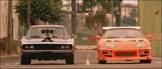 The Fast and The Furious - Charger vs. Supra.