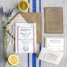 10 Unique and creative ideas for interactive wedding invitation packages. (Credit: Lucky Luxe)