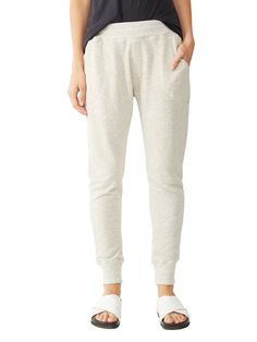 Organic Heavy French Terry Jogger Pants