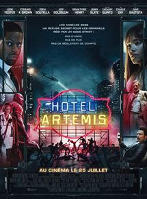 Buy Hotel Artemis on DVD at Mighty Ape NZ. Set in riot-torn, near-future Los Angeles, HOTEL ARTEMIS is an original, high-octane action-thriller starring Jodie Foster as The Nurse, who runs a se. Artemis, Charlie Day, Zachary Quinto, Jodie Foster, 2018 Movies, Movies Online, Fallout, Sofia Boutella, Image Film