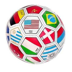 Full Sized World International Soccer Ball by Rhode Island Novelty. $9.79