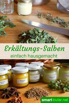 Cold ointment with anise or marjoram - even for babies and .- Erkältungssalbe mit Anis oder Majoran – sogar für Babys und Kleinkinder Cold ointment with anise or marjoram – even for babies and toddlers - Health Day, Baby Health, Coconut Health Benefits, Magnesium Benefits, Healthy Oils, Tortellini, Natural Health, Herbalism, Food And Drink