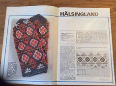 Halsingland, sweden, mittens, knitting