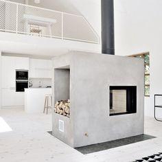 Cozy essential home with many ideas to inspire you. Via FAF