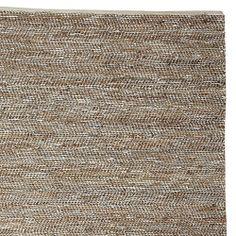 Metallic Suede & Hemp Rug in  from Serena & Lily on shop.CatalogSpree.com, your personal digital mall.