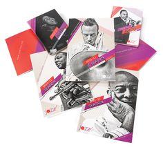 Jazz at Lincoln Center, Lucha Layout Inspiration, Graphic Design Inspiration, Jazz At Lincoln Center, Design Competitions, 2 Colours, Your Design, Branding, Seasons, Drawings