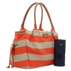 Kate Spade Designer Diaper Bags Jubilee Stripe Stevie Baby Bag Ideas Cute