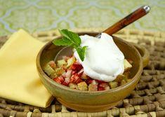 Strawberry Shortcake Trifle Thingy / @DJ Foodie / DJFoodie.com