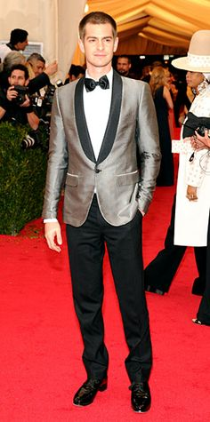 Andrew Garfield in Band of Outsiders #MetGala