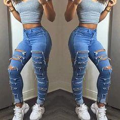 4d22899d6a5 M Unbranded Denim High Waist Regular Size Jeans for Women