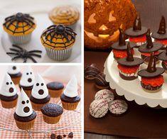 Gostosuras e travessuras   Cupcakes para as festas Halloween