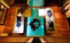 Villa Shore, Bali (Indonesia) #pool #piscina #piscinadecristal #design
