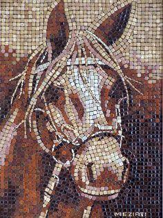Horse, ALEA-mosaic.com by Clemens Circulatum, via Flickr