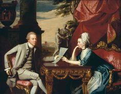 Mr. and Mrs. Ralph Izard (Alice Delancey), 1775, John Singleton Copley   Museum of Fine Arts, Boston
