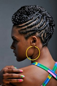 Twisted natural style featured in the essence magazine January issue by janice roye