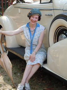 July 2010 Jazz Age Lawn Party, Love how she's mixing it up with the sneakers!