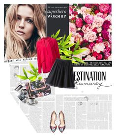 """""""Destination Runway with Bebe : Contest Entry"""" by katienochvay ❤ liked on Polyvore featuring Bebe, Kate Spade, Givenchy, Ted Baker and beiconic"""