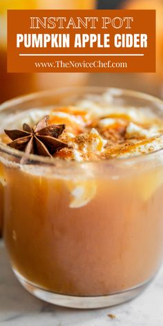 Homemade Apple Cider, Easy Drink Recipes, Best Instant Pot Recipe, Fall Drinks, Tart, Spices, Pumpkin, Yummy Food, Meals
