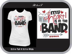 T-shirt band high schools 59 ideas for 2019 Marching Band Couples, Marching Band Mom, Marching Band Shirts, Band Mom Shirts, High School Band, Band Nerd, Spirit Shirts, Spirit Wear, Drumline